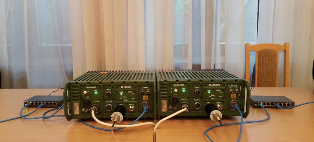 Testy interoperacyjności na R-450C