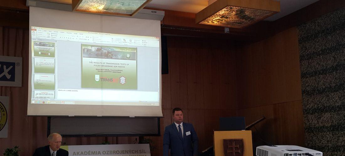 Transbit na konferencji KIT – 2017 na Słowacji